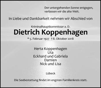 Dietrich Koppenhagen
