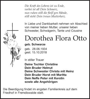 Dorothea Flora Otto
