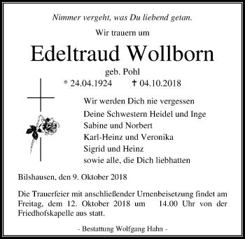 Edeltraud Wollborn