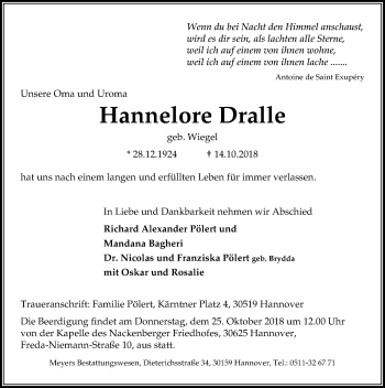 Hannelore Dralle