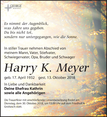 Harry K. Meyer