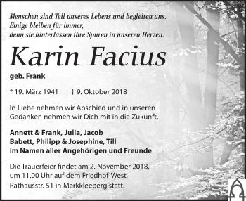 Karin Facius