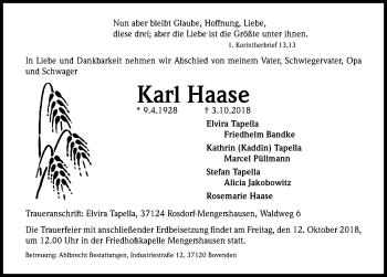 Karl Haase