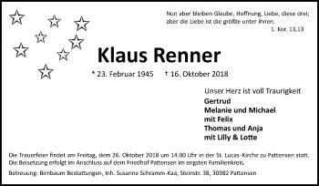 Klaus Renner