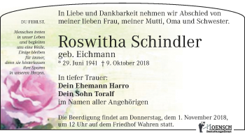 Roswitha Schindler