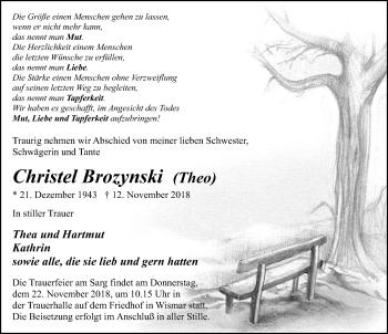 Christel Brozynski