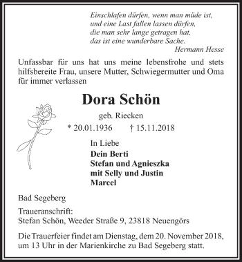 Dora Schön