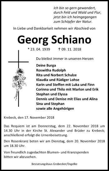 Georg Schiano