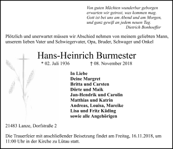 Hans-Heinrich Burmester