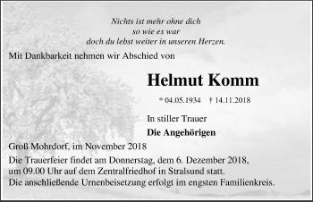 Helmut Komm