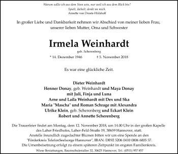 Irmela Weinhardt