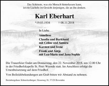 Karl Eberhart