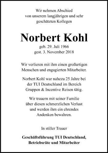 Norbert Kohl