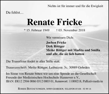 Renate Fricke
