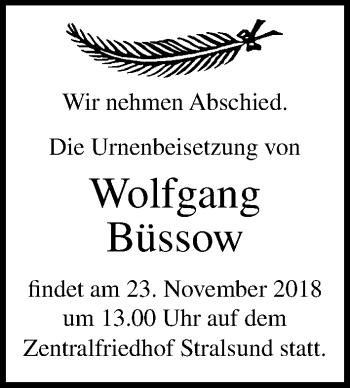 Wolfgang Büssow