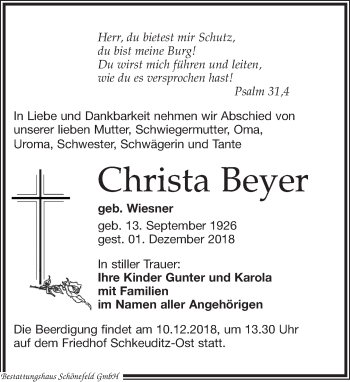 Christa Beyer