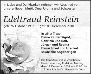 Edeltraud Reinstein