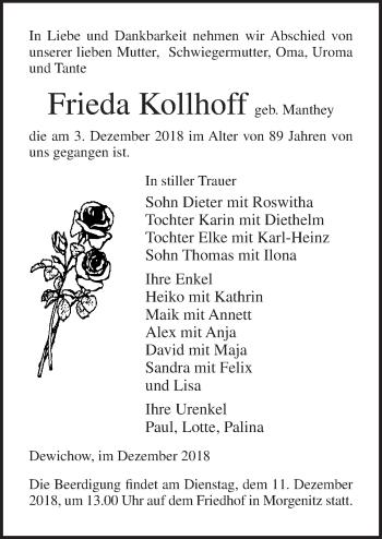 Frieda Kollhoff