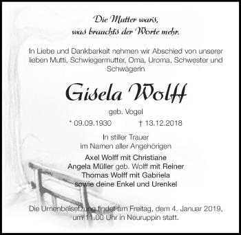 Gisela Wolf