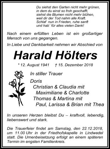 Harald Hölters