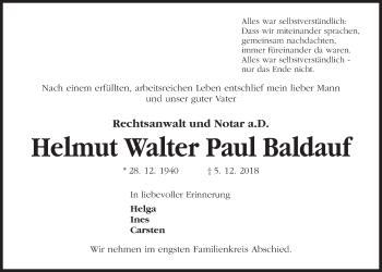 Helmut Walter Paul Baldauf