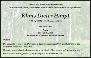 Klaus Dieter Haupt