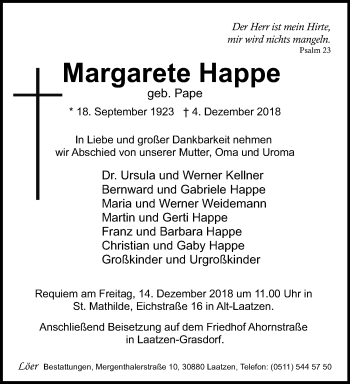 Margarete Happe