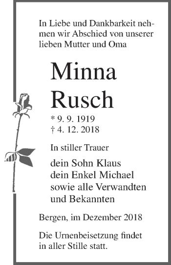 Minna Rusch