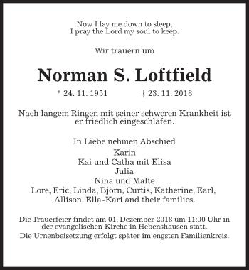 Profilbild von Norman S. Loftfield