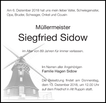 Siegfried Sidow