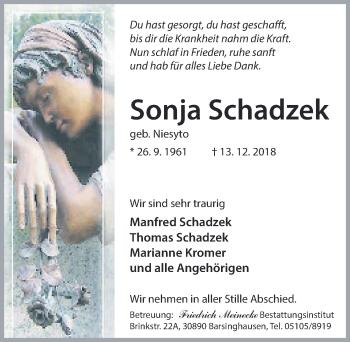 Sonja Schadzek