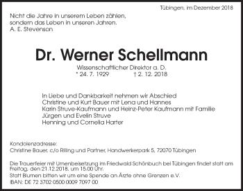 Werner Schellmann