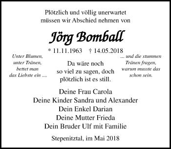 Jörg Bomball