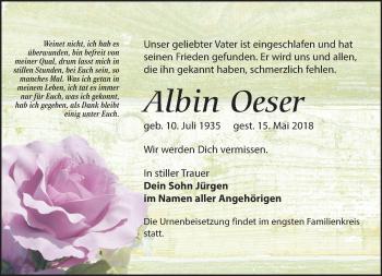 Albin Oeser