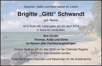 Brigitte Schwandt