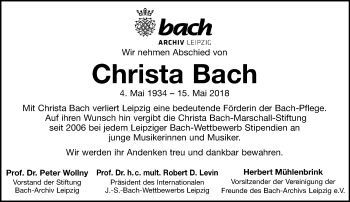 Christa Bach