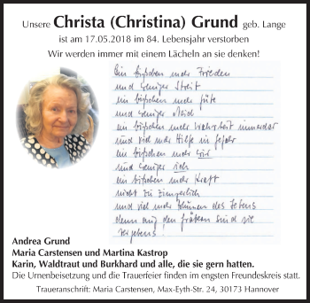 Christa Grund