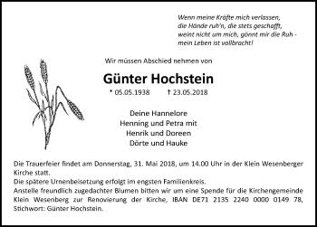 Günter Hochstein