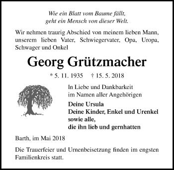 Georg Grützmacher
