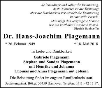 Hans-Joachim Plagemann