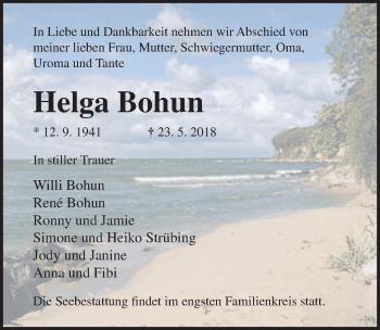 Helga Bohun