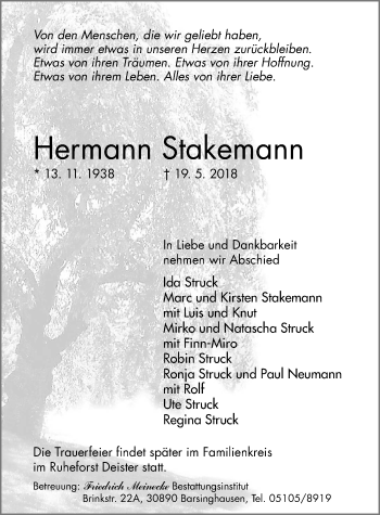 Hermann Stakemann