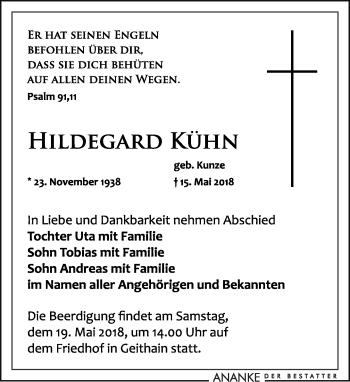 Hildegard Kühn