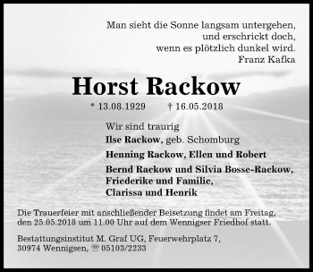Horst Rackow