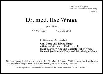 Ilse Wrage