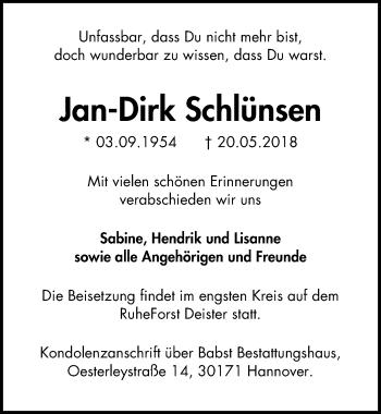Jan-Dirk Schlünsen