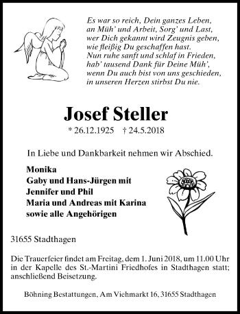 Josef Steller