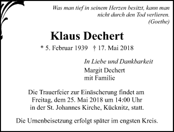 Klaus Dechert