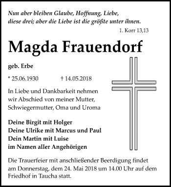 Magda Frauendorf