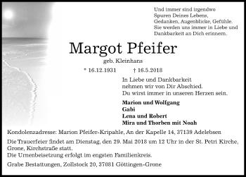 Margot Pfeifer